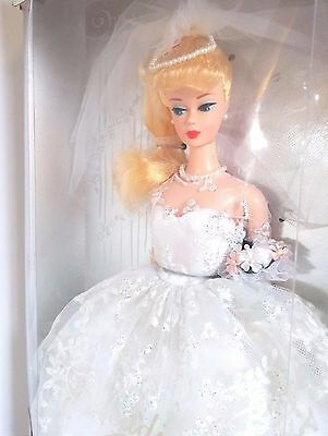 Wedding Day Barbie 1960 Fashion and Doll Reproduction1996 Blonde Bride Collector