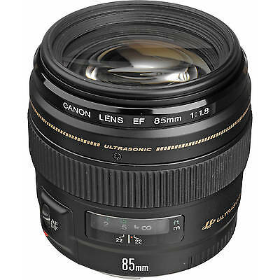 Clearance Deal Sale 85 mm Canon Ef 85mm f/1.8 Usm Lens 2519A003