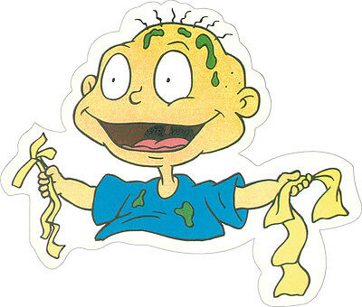 11101 Rugrats Tommy Cartoon Nickelodeon Nick Show Die Cut Sticker / Decal