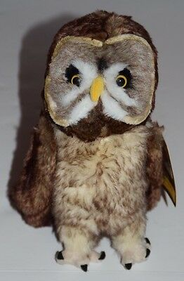 """Universal Wizarding World Of Harry Potter 10"""" Great Grey Owl Plush With Tag"""