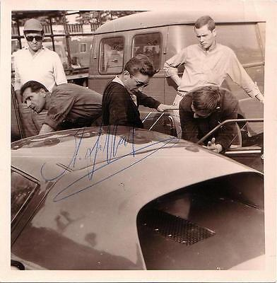 Jo Siffert Hand Signed Formula 1 F1 Photo Candid Photo Autograph