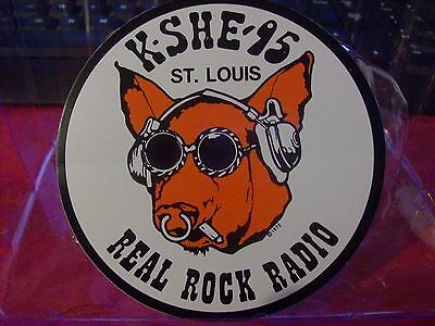 K-SHE 95 Real Rock Radio KSHE Sweetmeat Sticker KSHE K-SHE KSHE