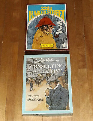 Sherlock Holmes Consulting Detective & 221b Baker Street Master Detective game