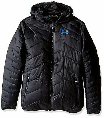 Boys Under Armour CGR HOODED JACKET 1282393-001 msrp $125