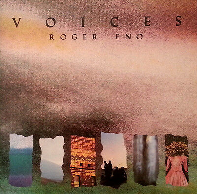 LP - ROGER ENO - Voices - UK 1985 MINT - Editions EG