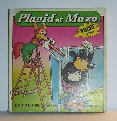 LIVRE BANDE DESSINEE BD MADE IN FRANCE ARNAL 194 PAGES PLACID MUZO POCHE N°101 b