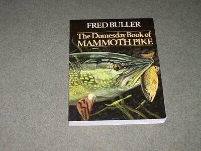 The Domesday Book of Mammoth Pike, Fred Buller Paperback Book The Cheap Fast