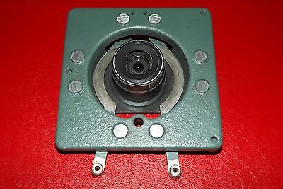 Kodak Microfilm Part: MRD-2 35MM Planetary Camera Plate, Springs & Lens Unit