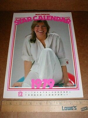 Japan 1979 Calendar Carrie Fisher Mark Hamill Harrison Ford of Star Wars Rare