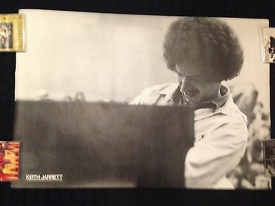Keith Jarrett Promo Poster Display Piano Miles Davis Jazz Steely Dan CD LP