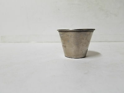 Stainless Steel Rolled Edge 3 OZ Condiment Cups