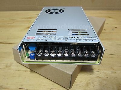 Power Supply Mean Well Rsp-320-24 24Vdc 13.4A