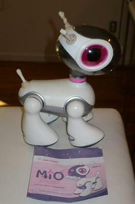 Hasbro Tiger Mio Pup White/Pink/Silver Interactive Robotic Puppy Dog 2007