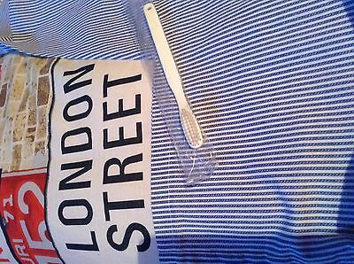 HMP toothbrush. HMPS embossed on brush PRISON THUG SERVICE white NEW COLLECTABLE