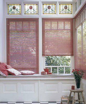 Aluminium Venetian Blinds - 1600mm Width x 1500mm Drop Blind - Multiple Colors