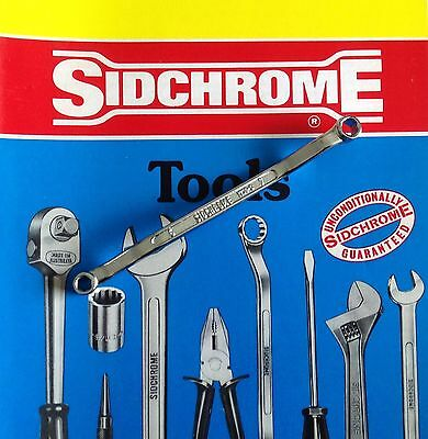 SIDCHROME RARE VINTAGE MINT 6 x 7mm ring spanner made in Australia 1230-0