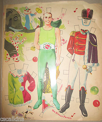 Vintage Circus Clown with Uncut Various Outfit Costumes