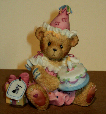 Cherished Teddies 864390 May All Your Birthday Wishes Come True MIB