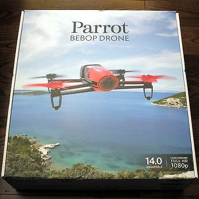 NEW Sealed Parrot Bebop Quadcopter Drone 14MP Camera 1080p Video - Free Shipping