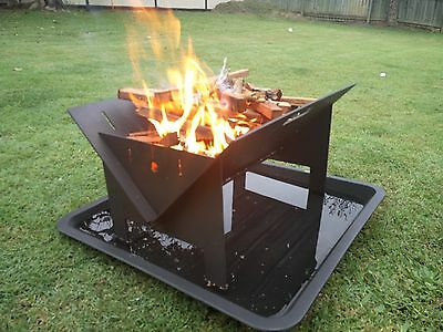 Flat Pack Fire Pit / Rotisserie / BBQ