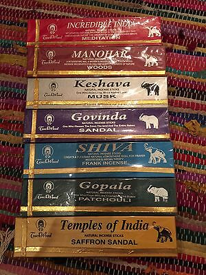 Incense Sticks Natural Hand rolled India