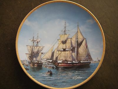 "The Hamilton Collection ""Call to Adventure""presents USS.Constitution with signed"