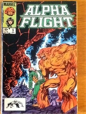 Alpha Flight issue 9 from April 1984 - postage discounts apply