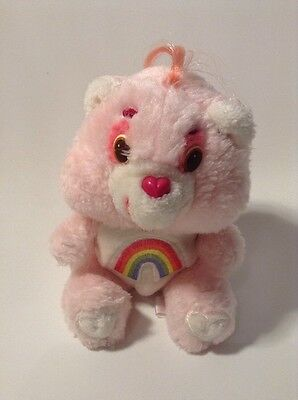 "6"" Vintage 80's Retro Care Bear ""cheer Bear""  Plush .Kenner 1983"