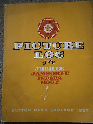 Baden Powell Scout Picture Log Jubilee Jamboree Indaba Moot Sutton Park 1957