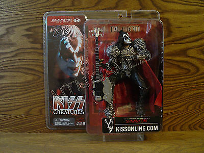 McFarlane's Kiss Creatures Action Figure - Gene Simmons - The Demon - New In Box