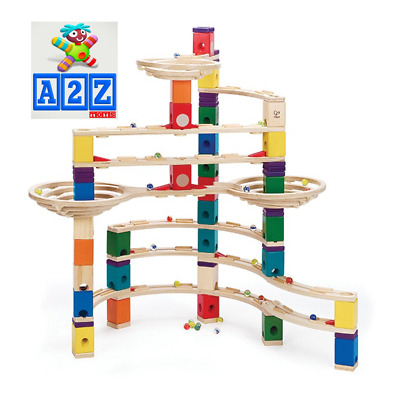 Hape Quadrilla The Challenger Wooden Marble Run - 147 Pieces