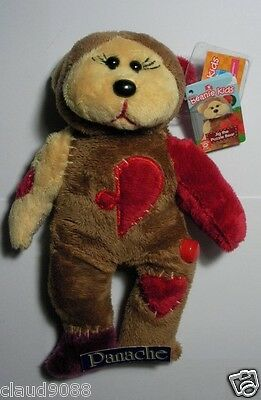 """Skansen Beanie Kid  """"jig The Puzzle Bear""""  Mint With Mint Tag  May- 2013 Release"""