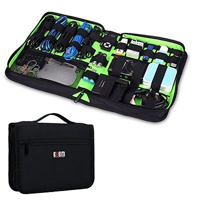 Bubm Portable Universal Electronics Accessories Travel Organizer / Hard Drive...