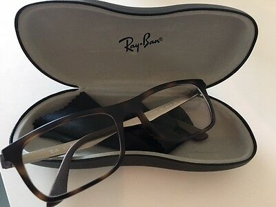 Ray-Ban RX7062 Authentic Designer Spectacle Frame with Case Brown