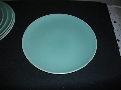 "Poole Twintone Ice Green,and seagull dinner plate 10"" dia colour.(c57)"