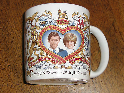 GHC John Buck HRH Prince Charles Lady Diana July 1981 Marriage Commemorative Mug