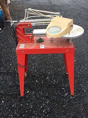 Scroll Saw Model 220-3 RBI Industries Excellent Shape W/ Manual