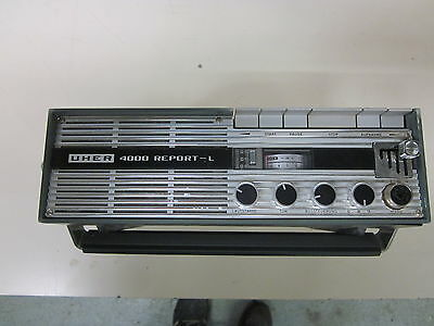 UHER 4000 REPORT-L Tape recorder Made in West Germany