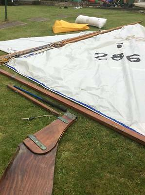 HERON Sails, Mast, Rudder, Buoyancy Bags, Spinnaker and More