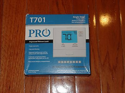 T701 - Pro1 IAQ Single Stage Non-Programmable Thermostat