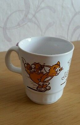 Tom and Jerry Vintage Childs Mug Cup 1976 MGM Inc