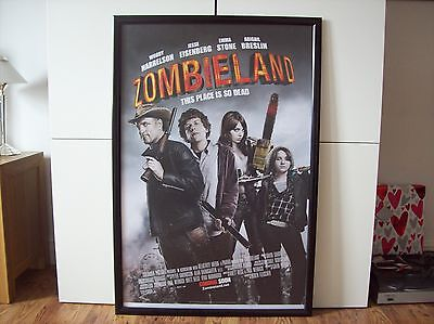 Zombieland Extremely Rare 1St Release Us One-Sheet Original Cinema Poster New