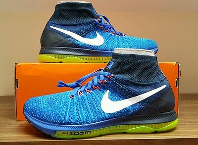 BNIB Mens Nike Air Zoom All Out Flyknit.  UK Size  8.5