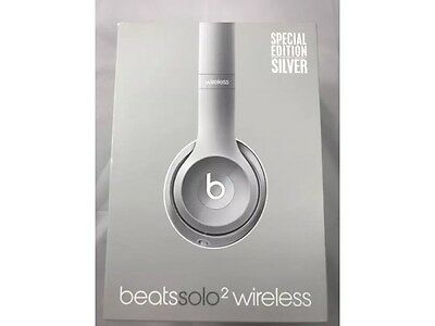 Beats by Dr. Dre Solo2 Wireless Headband Headphones - Special Edition Silver