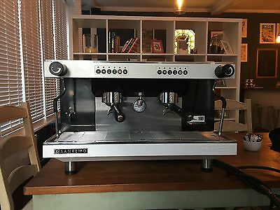 San Remo coffee machine (with grinder and knock box)
