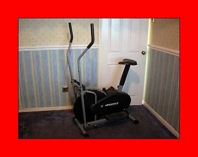 confidence fitness cross trainer /  exercise health workout gym equipment train