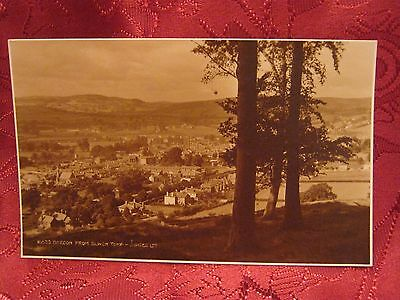 Postcard Brecon from Slwch Tump