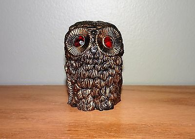 Vintage OWL Figurine Made In ITALY Figure