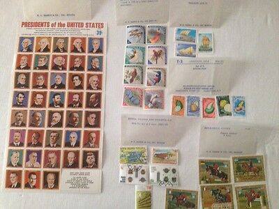 Equatorial Guinea- Famous Jockeys 5 Stamps, Camerouns - African Fruit, And More!