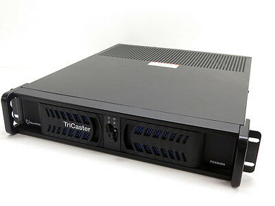Newtek Tricaster 460 with Control Surface TCXD460 HD-SDI Video Production System